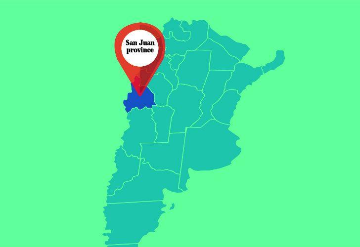 San Juan province.