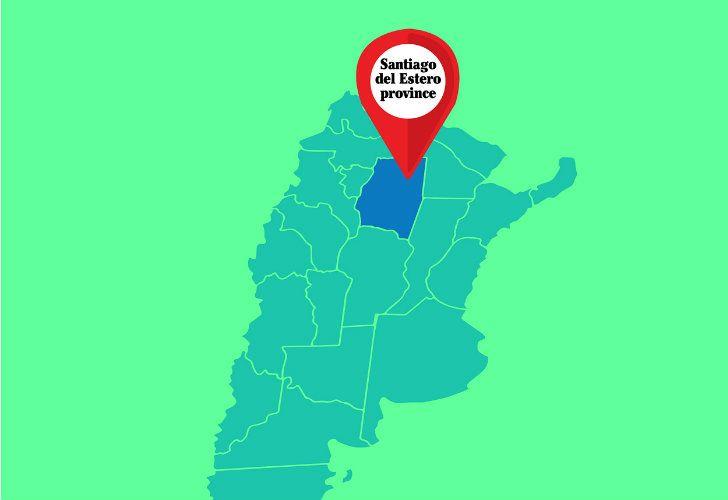 Santiago del Estero province.
