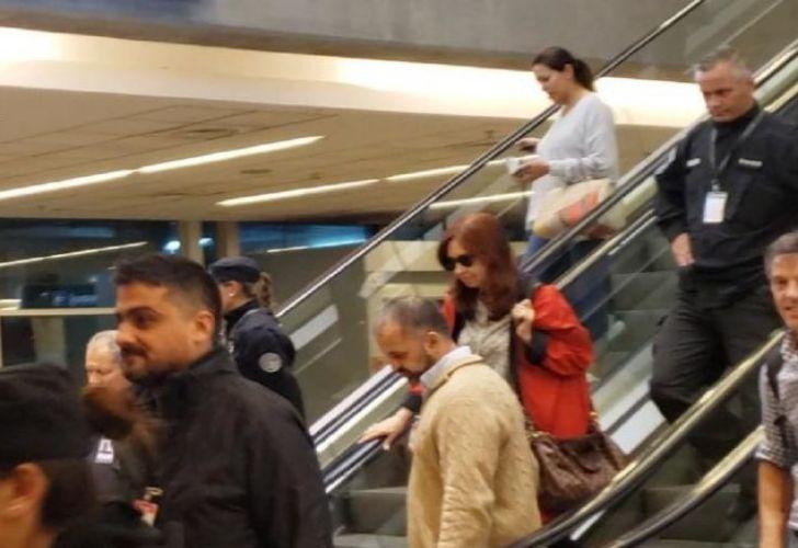 Cristina Fernández de Kirchner travels to Cuba (file)
