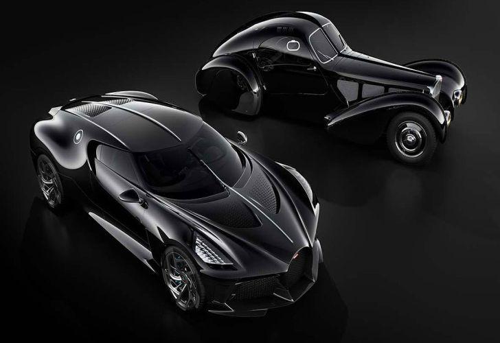 Con estilo sofisticado, este hiperauto es, por ahora, una maqueta. Toma inspiración en el Type 57 SC Atlantic que perteneció a Jean Bugatti, primogénito del fundador de la marca francesa.