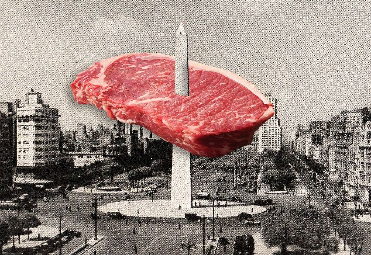 The classic argentinian steak,
