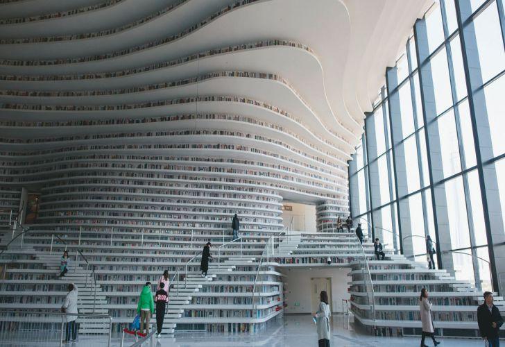 Un logrado estilo futurista. Proyecto del estudio holandés MVRDV.